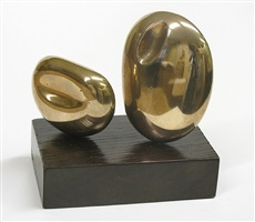 two forms (atlantic) by barbara hepworth
