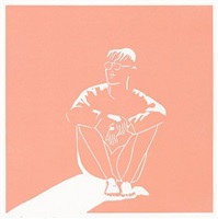 """jonas (from """"lincolnville labor day"""") by alex katz"""