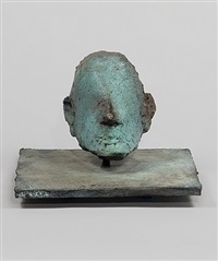 mask ii by nathan oliveira