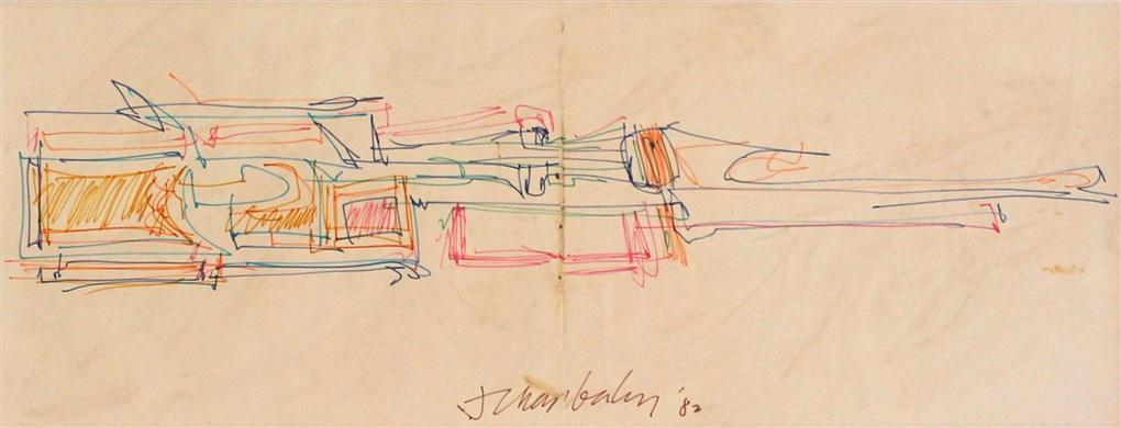 untitled gondola series by john chamberlain