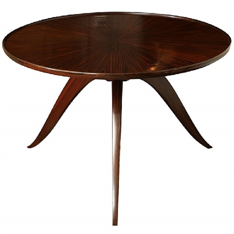 bas ducharne table by émile jacques ruhlmann