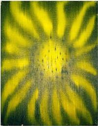 sunflower by ross bleckner