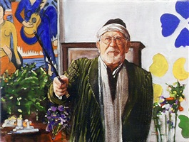 the composer: henri matisse by joe fig