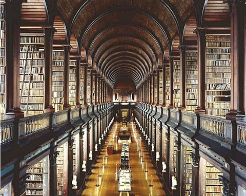 trinity college, dublin i by candida höfer