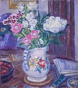 still life with flowers by mary godwin