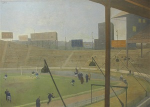 mid-week practice at stamford bridge by laurence toynbee