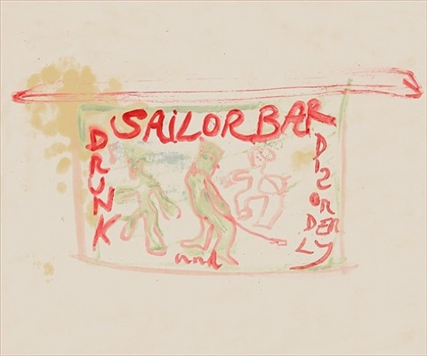 sailor bar by peter doig