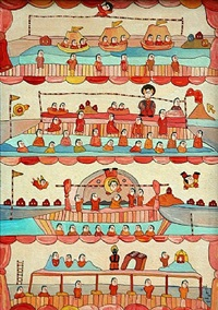 circus scenes by jose de freitas