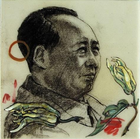 buddha's hand by hung liu