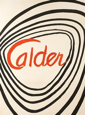 untitled, from the series hypnose by alexander calder