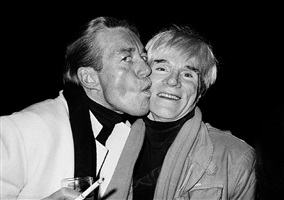 halston and andy warhol at studio 54 by roxanne lowit