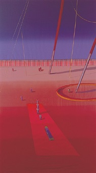 on the red mat by ali clift