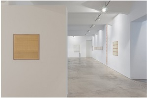 installation view galerie crone 2013 by hanne darboven