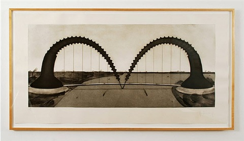 screwarch bridge (state ii) by claes oldenburg