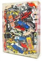 car accumulation (matchbox cars) by arman