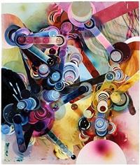 smoke painting #31 by rosemarie fiore
