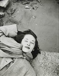 kim sunday morning at the cloisters by saul leiter