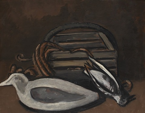 maine seacoast, still life by marsden hartley