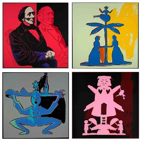 hans christian andersen (suite) by andy warhol
