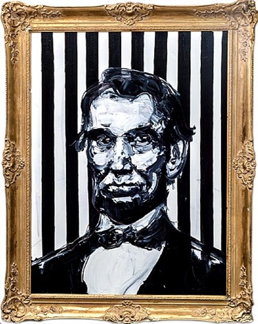 abraham lincoln by hunt slonem