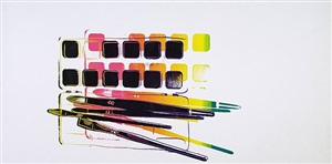 watercolor paint kit by andy warhol