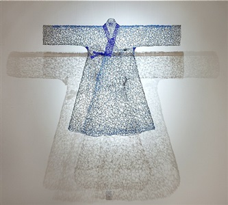 dream in blue jangot by keysook geum