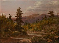 view from schoharie kills by sanford robinson gifford