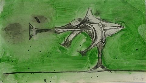 plant form by graham sutherland