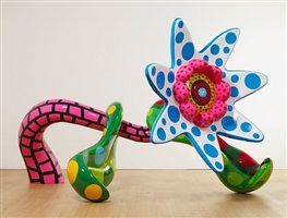 flowers that bloom tomorrow (l) by yayoi kusama