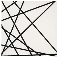10 lignes au hazard (75089) by françois morellet