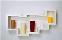 Untitled (5 tumbler horizontal what-not #1), 2013