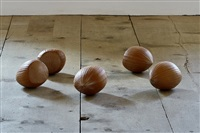 five hazelnuts by bethan huws