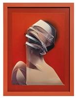 orange dimensional portrait (dimensional edition) by adam neate