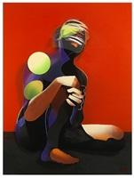kneeling & screaming (dimensional edition) by adam neate