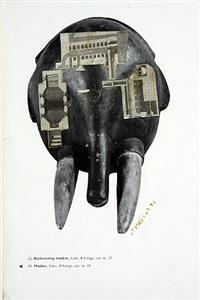 klokvormig masker by sir eduardo paolozzi