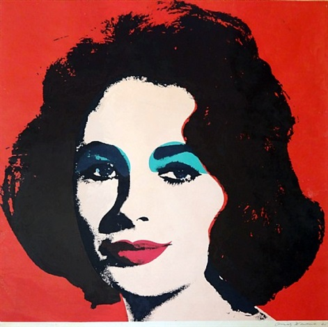 liz fs ii.7 by andy warhol