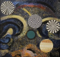 homage to tinguely by cynthia bickley-green