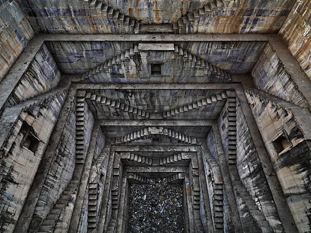 stepwell #4, sagar kund baori by edward burtynsky