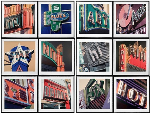 american signs by robert cottingham