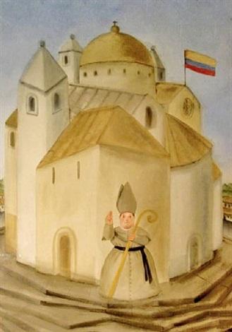 catedral by fernando botero