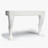 plaster console by john dickinson