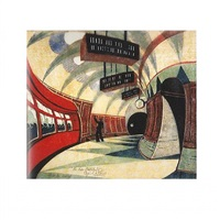 the tube station by cyril edward power
