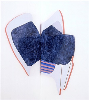 splatter chair (folding) by richard artschwager