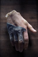 hand sculpture from the tomb by peter hujar
