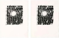 negro sunshine by glenn ligon