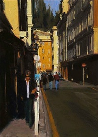 afternoon light, south of france by ben aronson