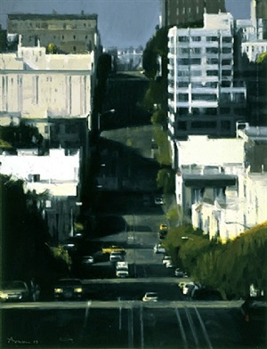 california street by ben aronson