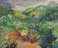 garden and font des serpents st. lucia by nell blaine