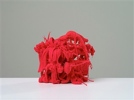 red piece (small) by ham jin
