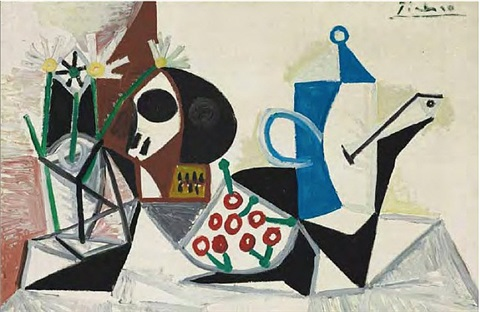 nature morte, 13 july 1945 by pablo picasso